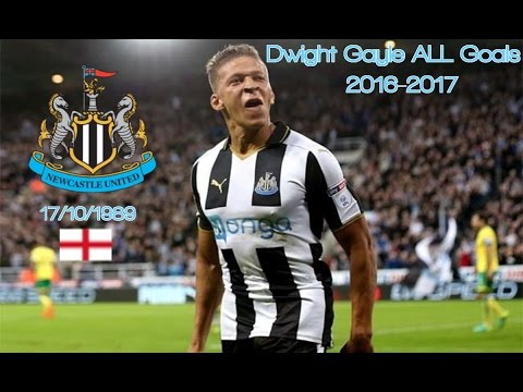 Dwight Gayle ● Goals 2016-2017 │ Newcastle United