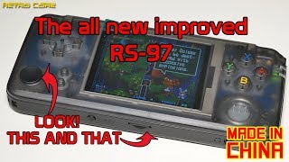 All new RS-97 - The King of Chinese handhelds just got much better!
