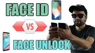 Le clash des reconnaissances faciales : iPhone X Vs OnePlus 5T !