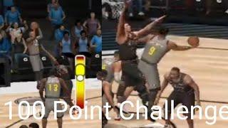 NBA Live Mobile 20 Ep.8 100 Point Challenge!