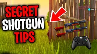 SECRET Season 8 Controller Fortnite Shotgun Aim Tips (PS4/Xbox Pro Fortnite Console Tips)