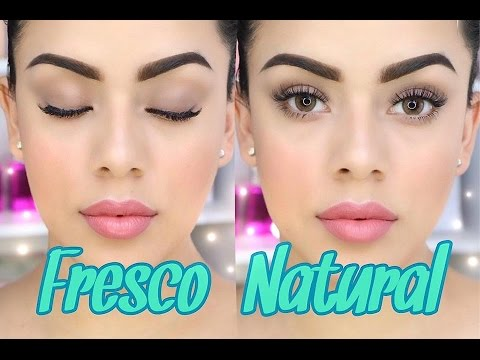 maquillaje fresco y natural