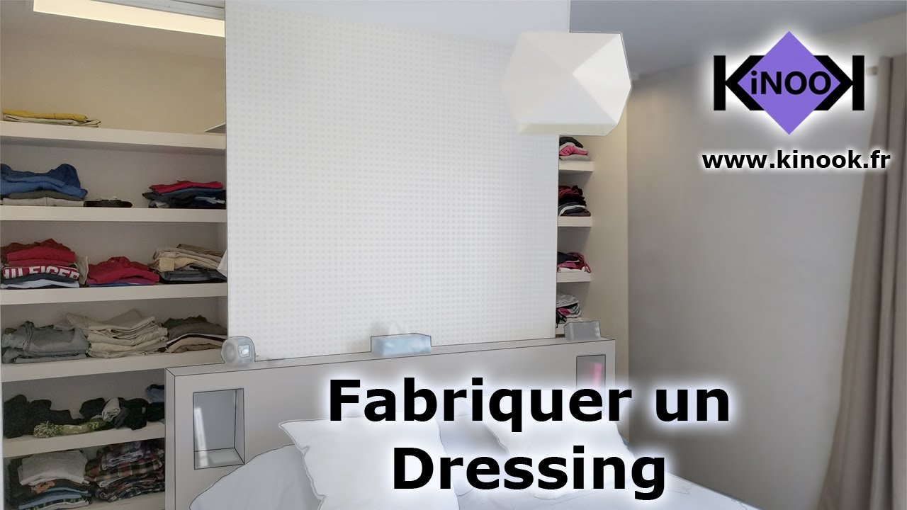 fabriquer un dressing youtube. Black Bedroom Furniture Sets. Home Design Ideas