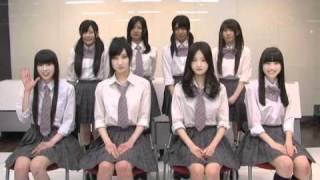 アイドルカレッジの自己紹介動画 http://www.tv-tokyo.co.jp/melodix/