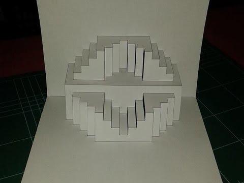 Kirigami Paper Craft Book