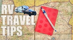 RV Travel Tips for Vacation and Full Time RV Living