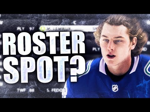 My Insecurities W/ Adam Gaudette (Roster Spot Available? - Vancouver Canucks Forwards Discussion)