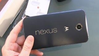 Google Nexus 6 Smartphone Unboxing und erster Eindruck