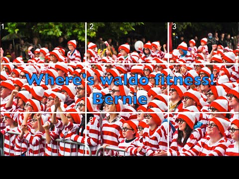Where's waldo' super fun fitness edition