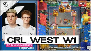 CRL West 2020 Week 1  | SK Gaming vs Misfits  | Moments