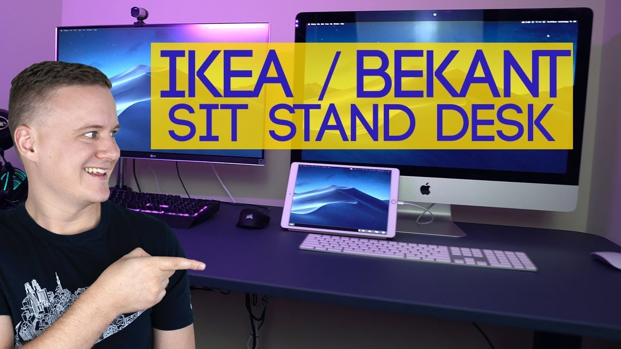 Ikea Bekant Sit Stand Electric Standing Desk 2019 Review And First Impressions
