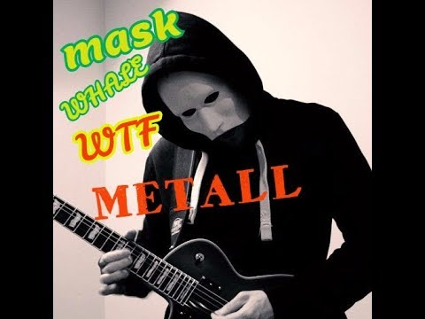 Как сделать маску WHALE WTF METALL/How to do the mask of WHALE WTF METALL  из литьевого пластика DIY