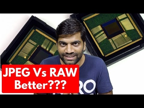JPEG Vs RAW Images? Which is Better? RAW Photos on Android and iOS?