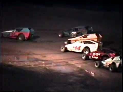 Mark Weaver, Brewerton Speedway, 1989