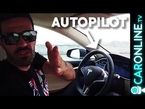 TESLA Model S em AUTOPILOT é MEGA! [Review Portugal]