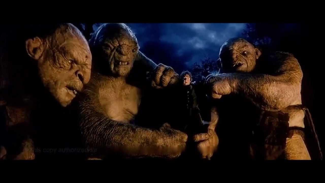 The Hobbit - Troll Battle - YouTube