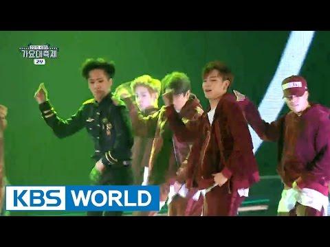 VIXX & BTS & GOT7 - We Run The World [2015 KBS Song Festival / 2016.01.23]