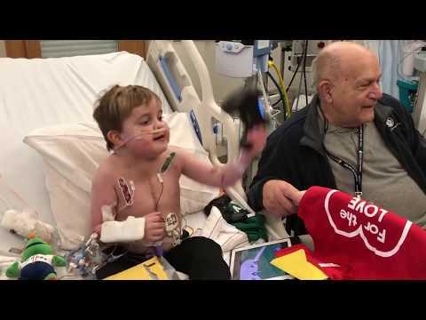 Kid Enjoy's PS4 after Heart Surgery