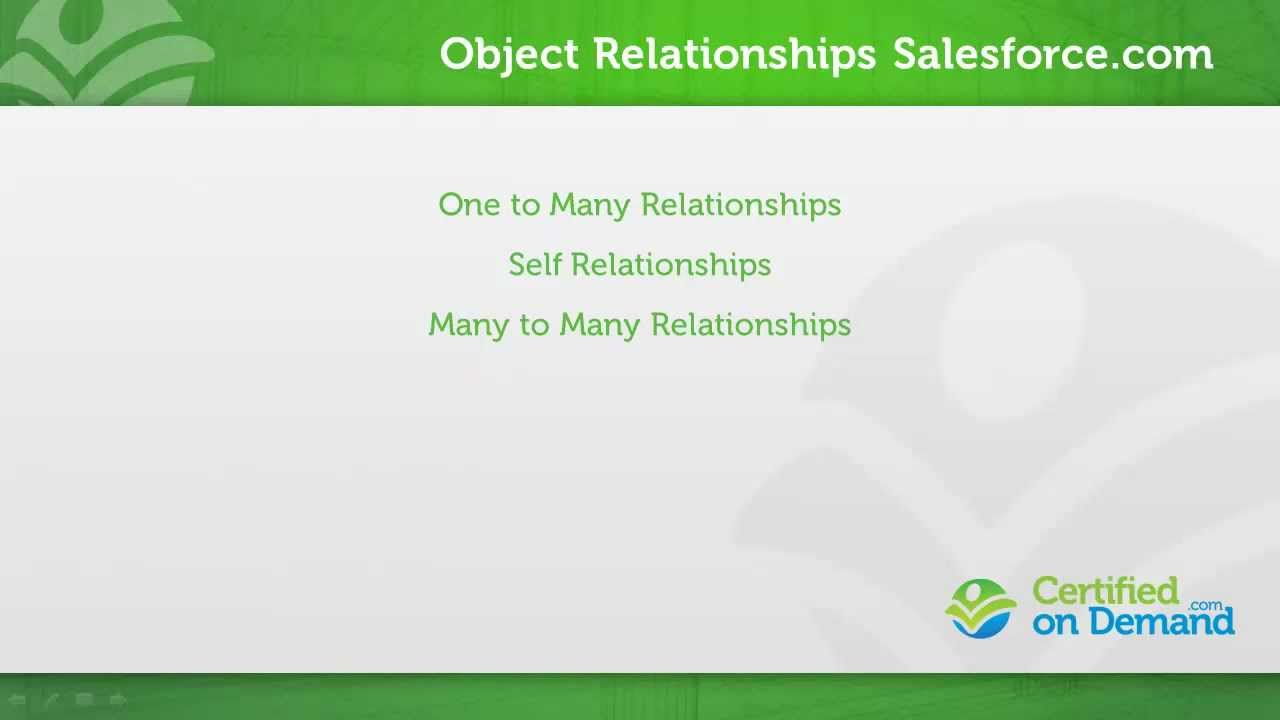 salesforce object relationship types symbiotic