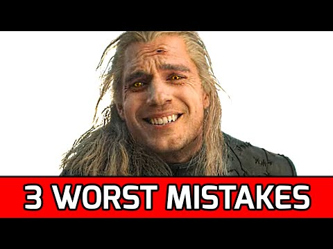 Top 3 Worst Mistakes of The Witcher Show by Netflix + Producer Response
