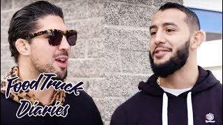 Dominick Reyes | Food Truck Diaries | BELOW THE BELT with Brendan Schaub