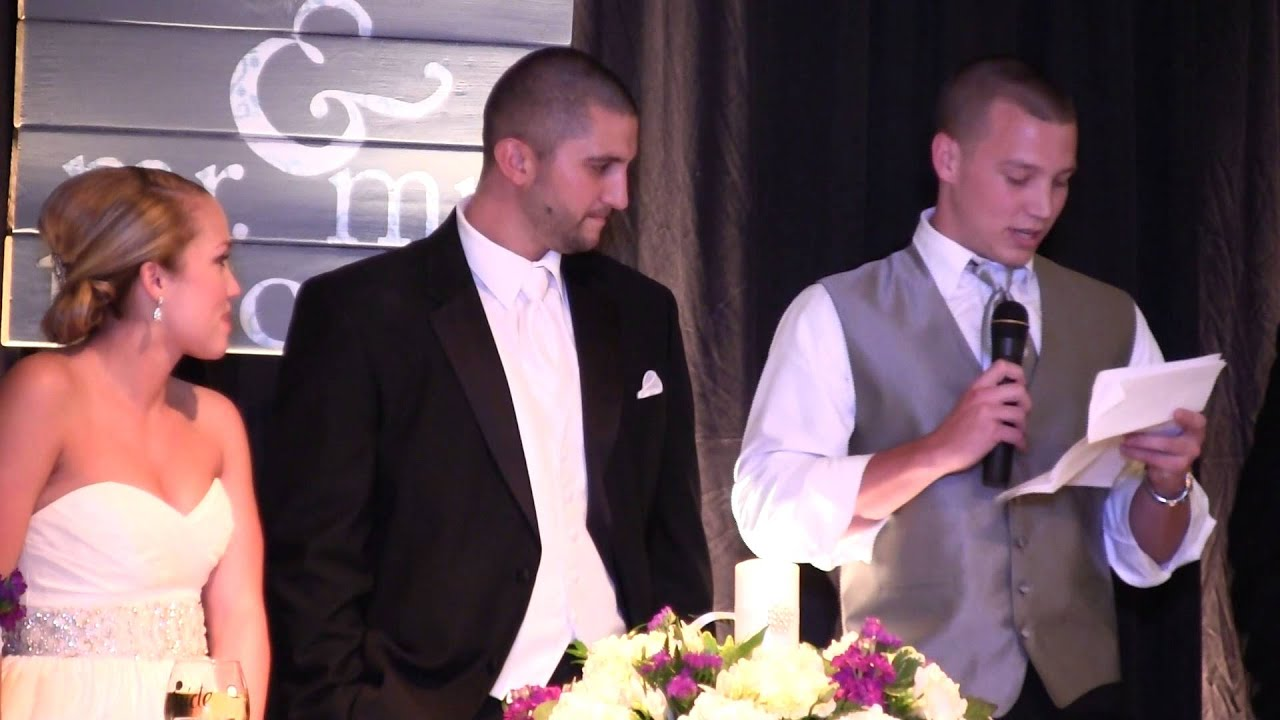 The Funniest Wedding Speech Ever - YouTube