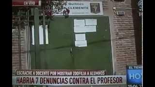 Denuncian que profesor habría mostrado vídeos de zoofilia a sus alumnos - Mirada de Quilmes Oeste