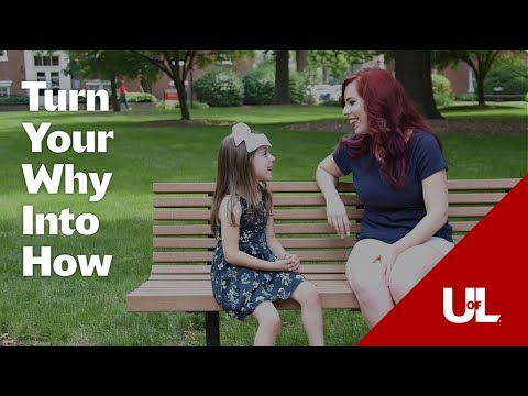 University of Louisville Online: Turn Your Why Into How