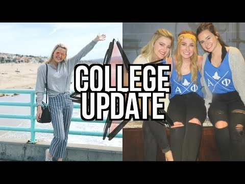 college update: greek life, study abroad, parties, and advice!