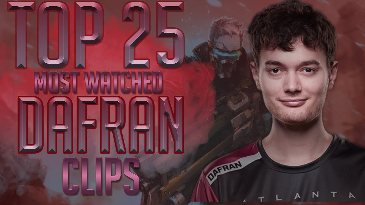 Download Dafran TOP 25 MOST VIEWED Twitch Clips │ Overwatch Moments