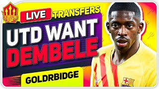 United Want DEMBELE & SABITZER? Man Utd Transfer News