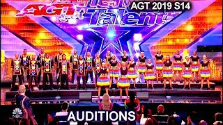 """Ndlovu Youth Choir from Africa """"My African Dream""""  UPLIFTING 