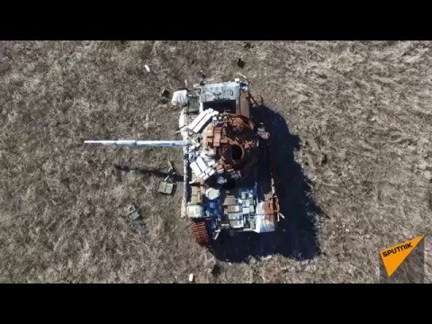 Scars of War: Drone Footage Shows Aftermath of Ukraine Conflict's Deadliest Battle