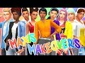 GIVING ALL THE NEW MAXIS SIMS MAKEOVERS 💛💗 + 109 CC LINKS   The Sims 4   Create a Sim