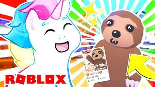 NEW ADOPT ME UPDATE! Buying THE SLOTH in Adopt Me! Roblox Adopt Me Update