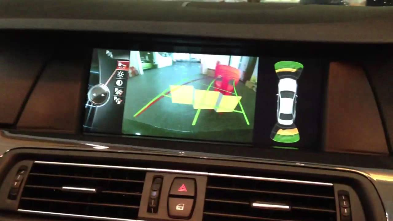 original reverse camera retrofit for bmw 520i f10 with nbt