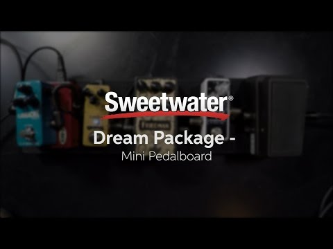 Sweetwater Mini Pedalboard Dream Package Demo