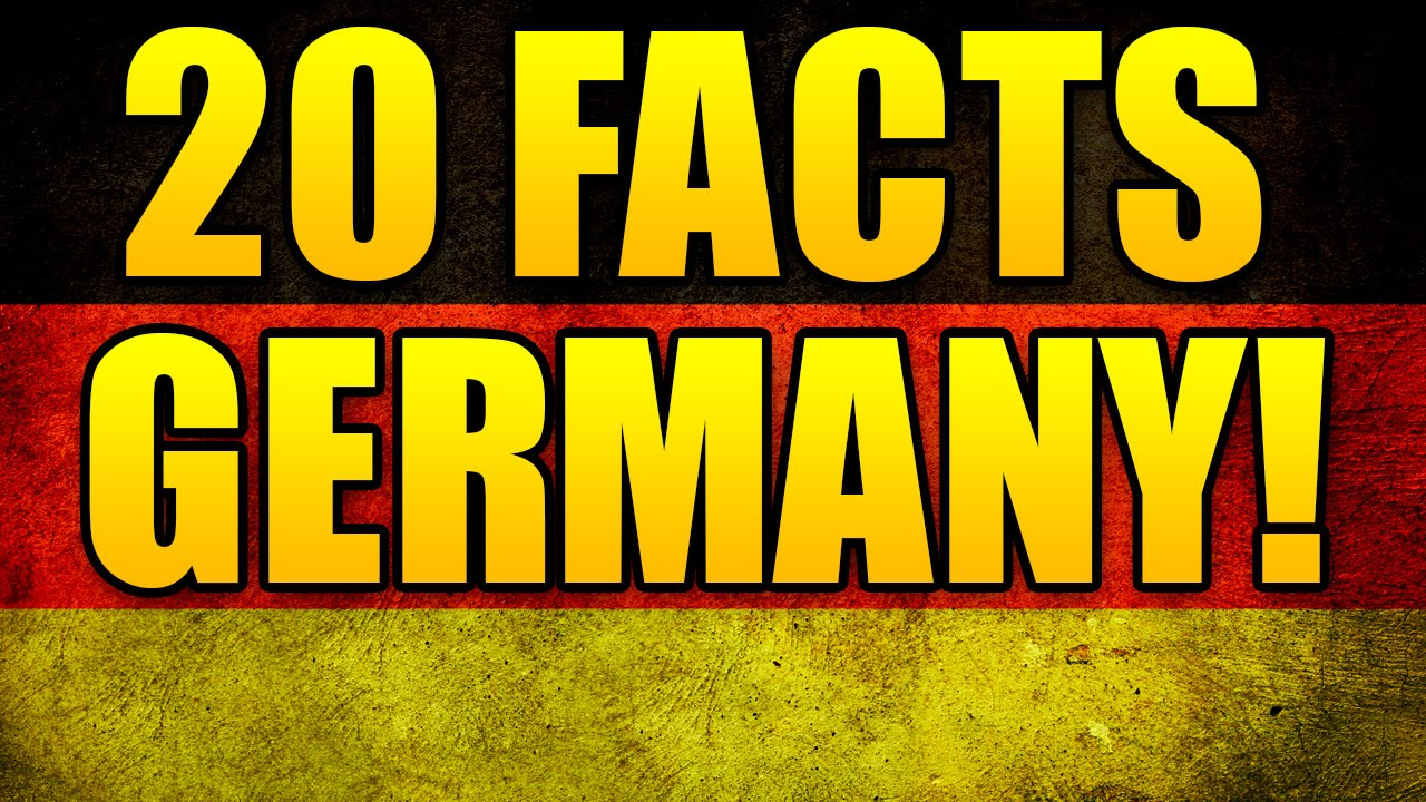 20 Fun Facts About Germany - Your Monday Cure - YouTube