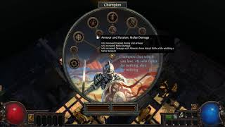 Revamped Ascendancy Reveal: Champion