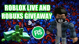🔴Roblox Live #90🔴EVERY 5 SUBS GIVING AWAY 10 OR 15 ROBUXS