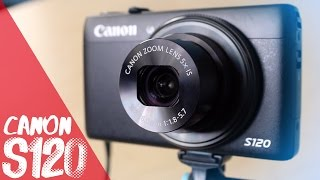 Canon Powershot S120 First Impressions & 1080p HD Raw Video Test