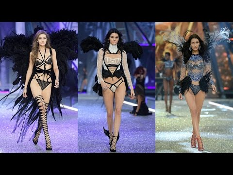 Thumbnail: Gigi Hadid, Kendall Jenner & Bella Hadid at The Victoria's Secret Fashion Show 2016