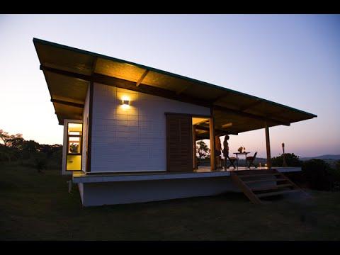 Dise o de casa muy peque a de madera con planos youtube for Casas de madera pequenas