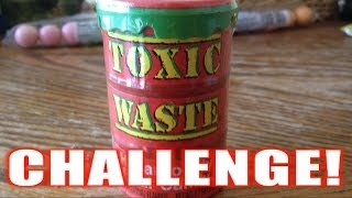 Toxic Waste Sour Candy Challenge *BLOOD ALERT (ep 37)