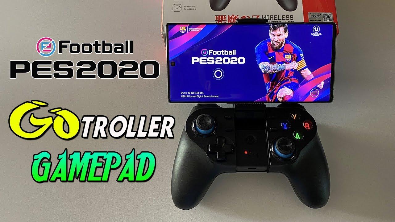 Gotroller For Smartphone Gamers Pes 2020 Mobile Gamepad Youtube