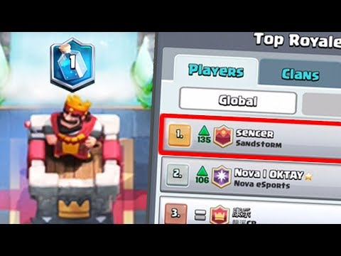 I BATTLED THE #1 PLAYER IN THE WORLD | Clash Royale | How did this happen??