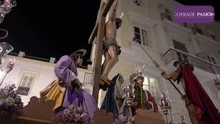 Stmo. Cristo de la Sed por Pelota, San Agustín y San Francisco (Semana Santa Cádiz 2019)