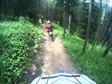 Deadman's Gulch trail in Crested Butte, CO