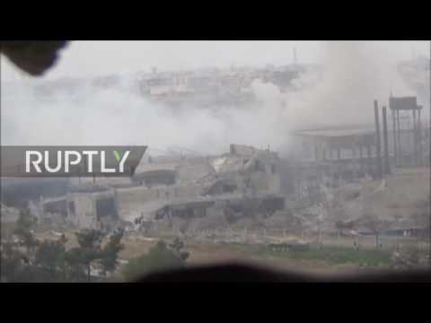Syria: Explosions as Syrian Army go on offensive in Jobar, Damascus