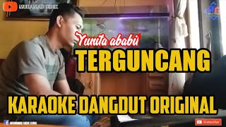 KARAOKE TERGUNCANG (COVER) LIRIK TANPA VOKAL - SIDIK KORG PA700 DANGDUT